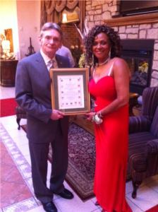 HamCar's President - Donna Burton and MP, David Christopherson